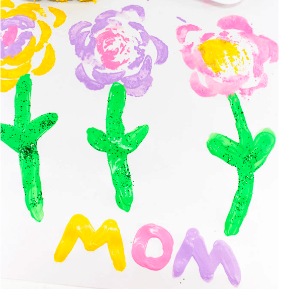Homemade Craft for Mom