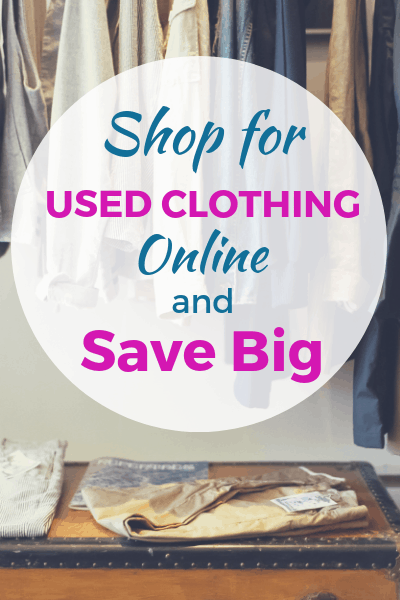 Shop for Used Clothing Online and Save Big!