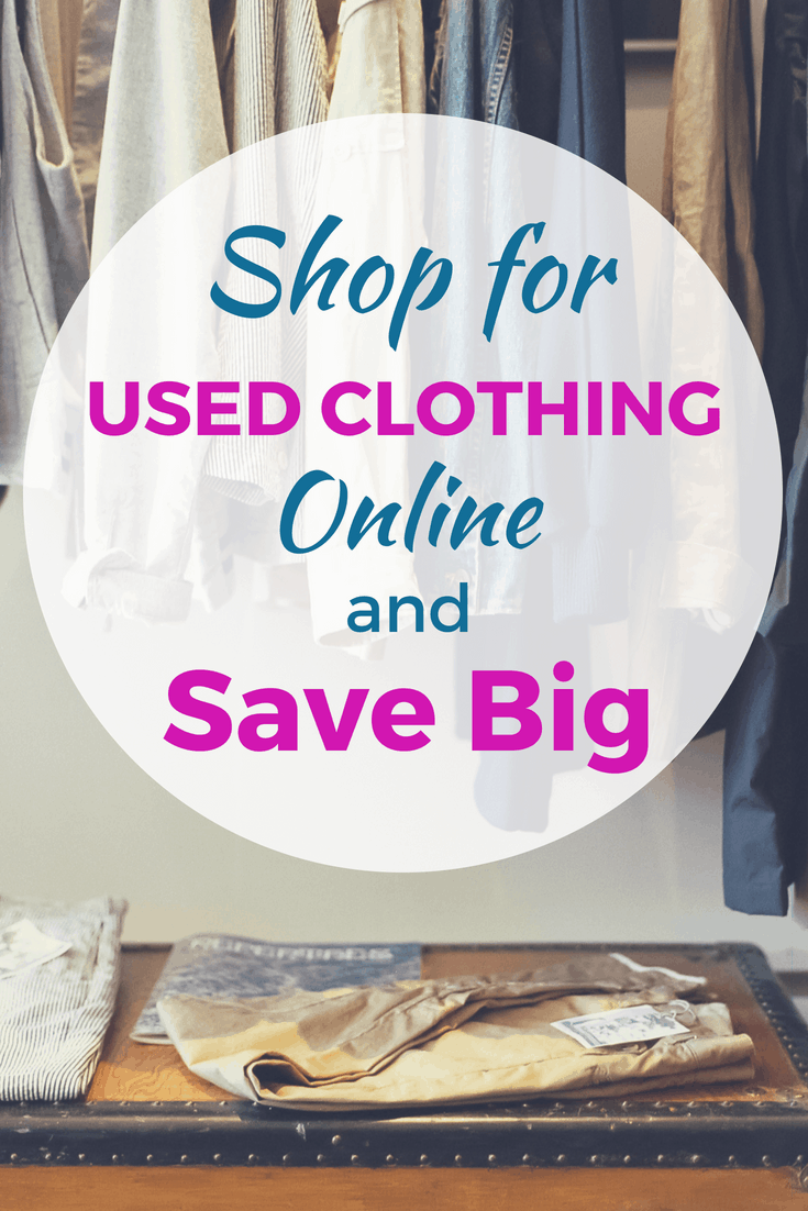Used clothing online shopping