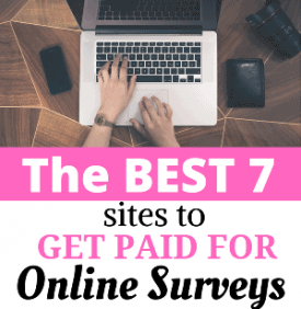 Get Paid for Online Surveys