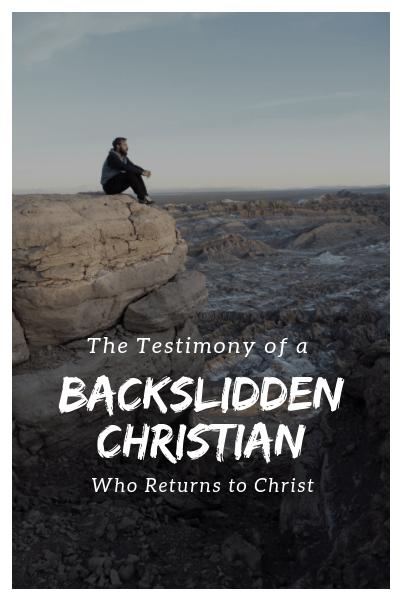 Backslidden Christian