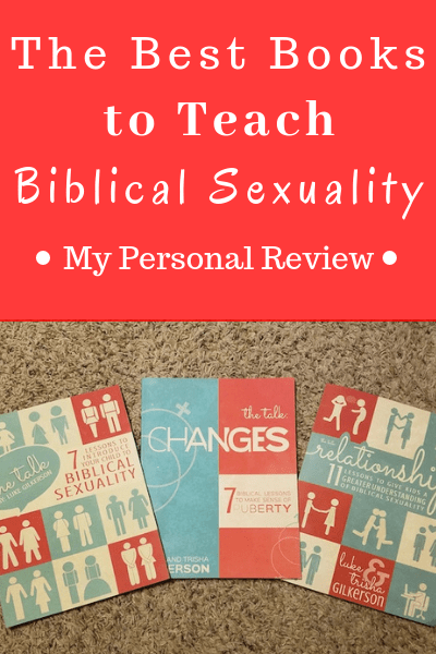 The Best Books to Teach Biblical Sexuality