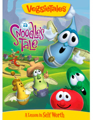 VeggieTales A Snoodle's Tale