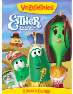 VeggieTales Esther The Girl Who Became Queen
