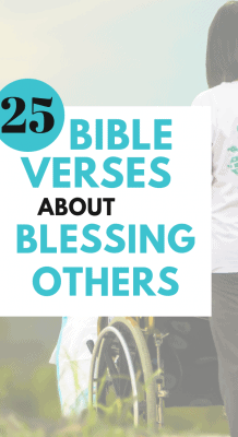 Bible verses about blessing others