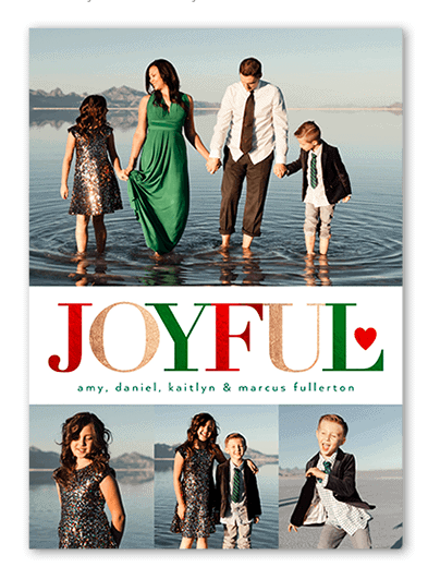 Shutterfly Christmas Photo Cards 50% off Plus! Free Shipping