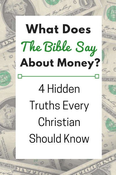 What Does the Bible Say about Money?