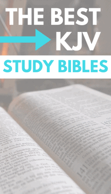 Best KJV Study BIble