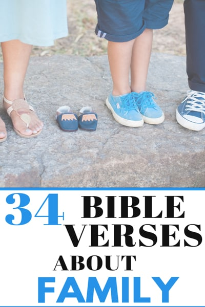 34 Bible Verses about Family