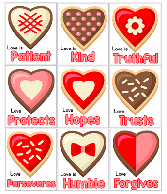 Free Christian Valentines Printables