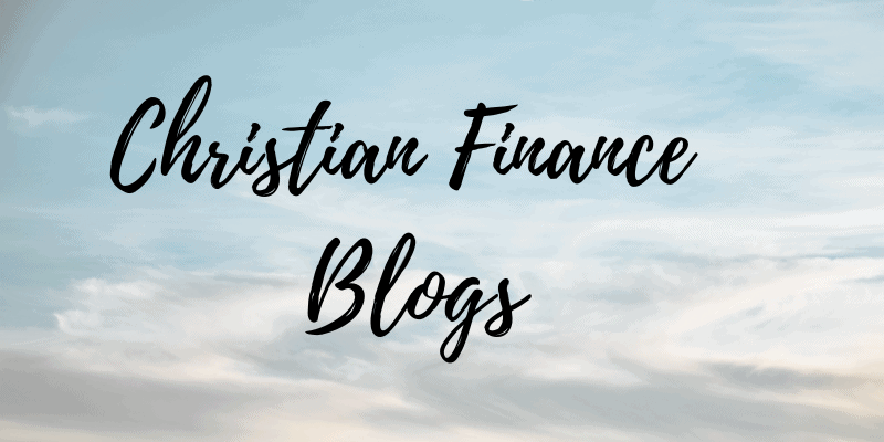 Christian Finance Blogs