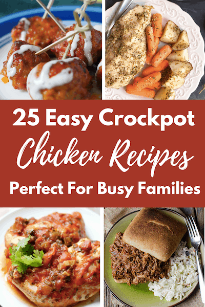 25 Slow Cooker Chicken Breast Recipes That Are Budget Friendly