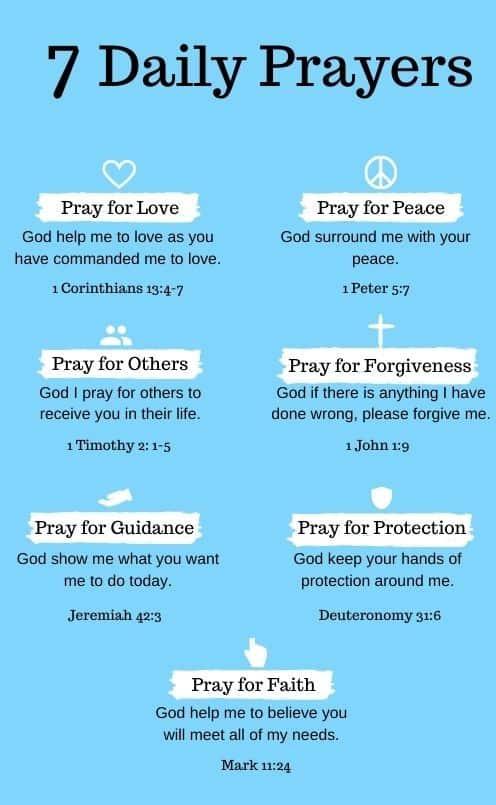 Daily Prayers to Pray