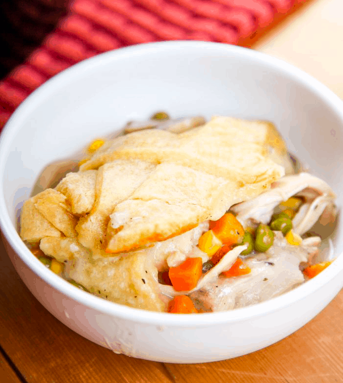 Slow Cooker Chicken Thigh Pot Pie
