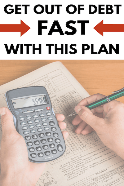 Learn How to Get Out of Debt Fast with This Plan
