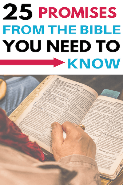 25 of God's Promises You Need to Know | Free Printable
