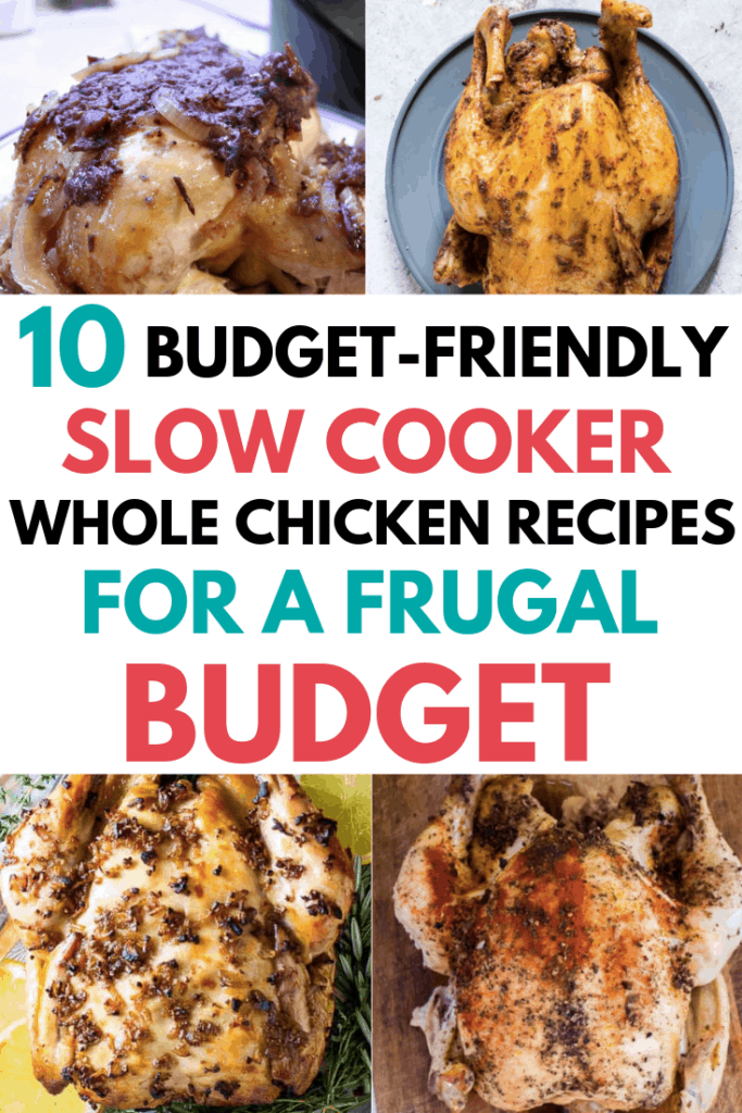 Slow Cooker Whole Chicken Recipes