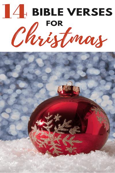 14 Beautiful Christmas Bible Verses