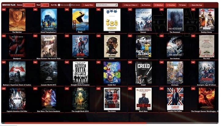 MovieFlix Free movie streaming