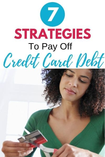 7 Important Steps to Paying Off Credit Card Debt