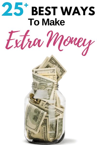 25+ Legitimate Ways to Make Extra Money