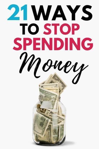 Stop Spending Money