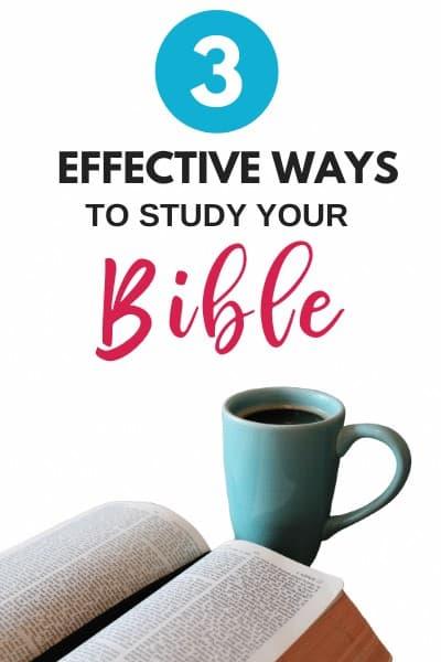 How to Study the Bible Plus! Free Printable