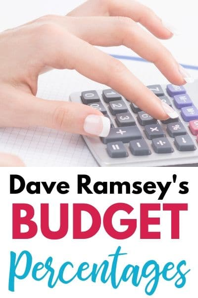 Dave Ramsey Percentages