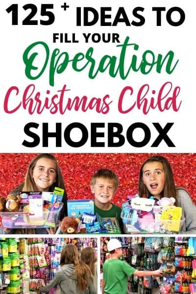 Operation Christmas Child Shoebox Ideas 1