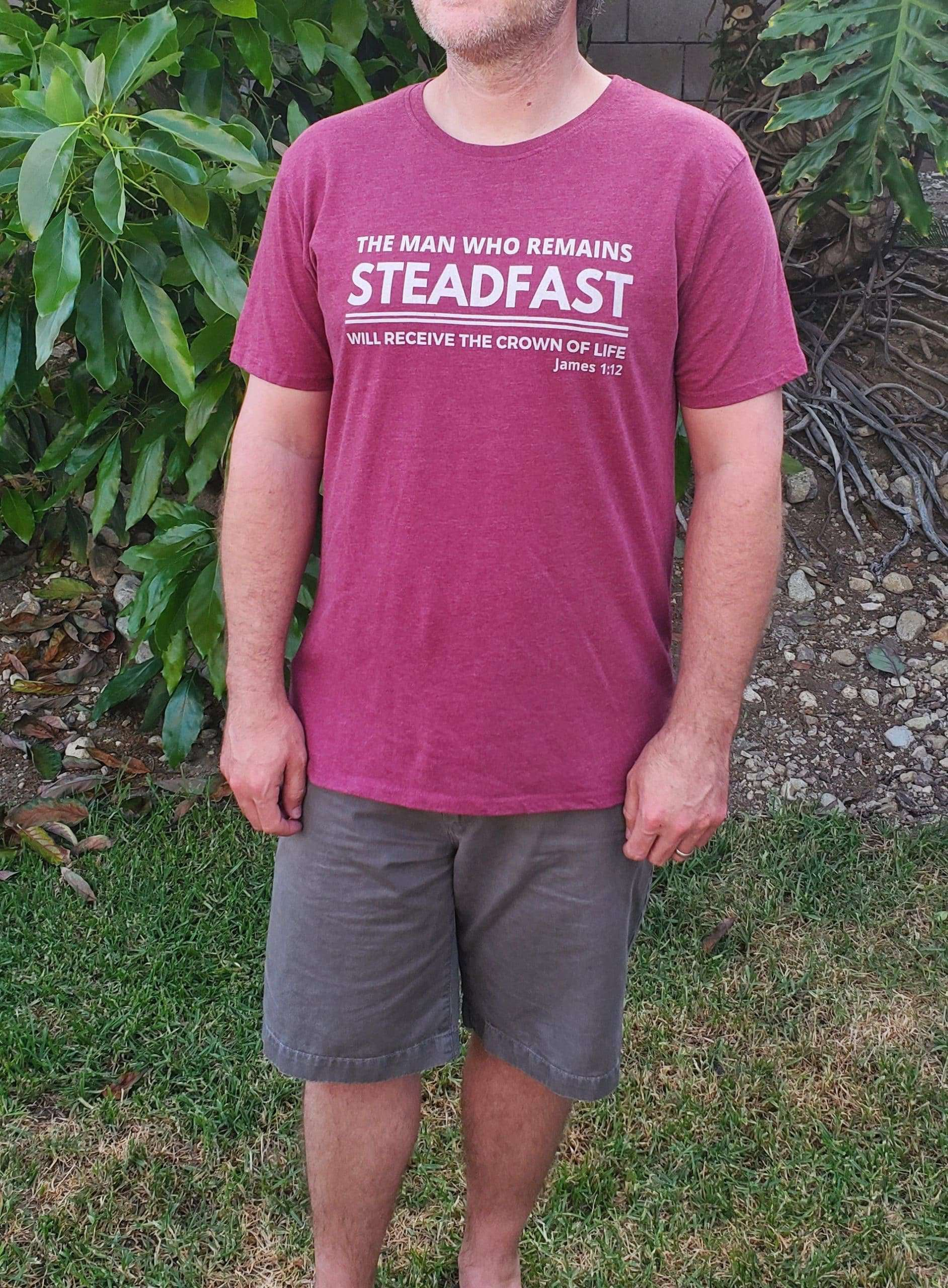 Steadfast Christian clothing for men
