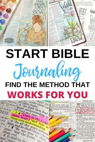 Bible Journaling in your Bible