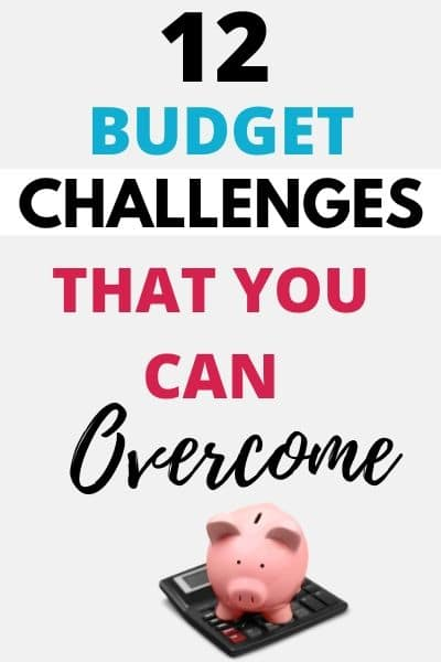 Budgeting Challenges