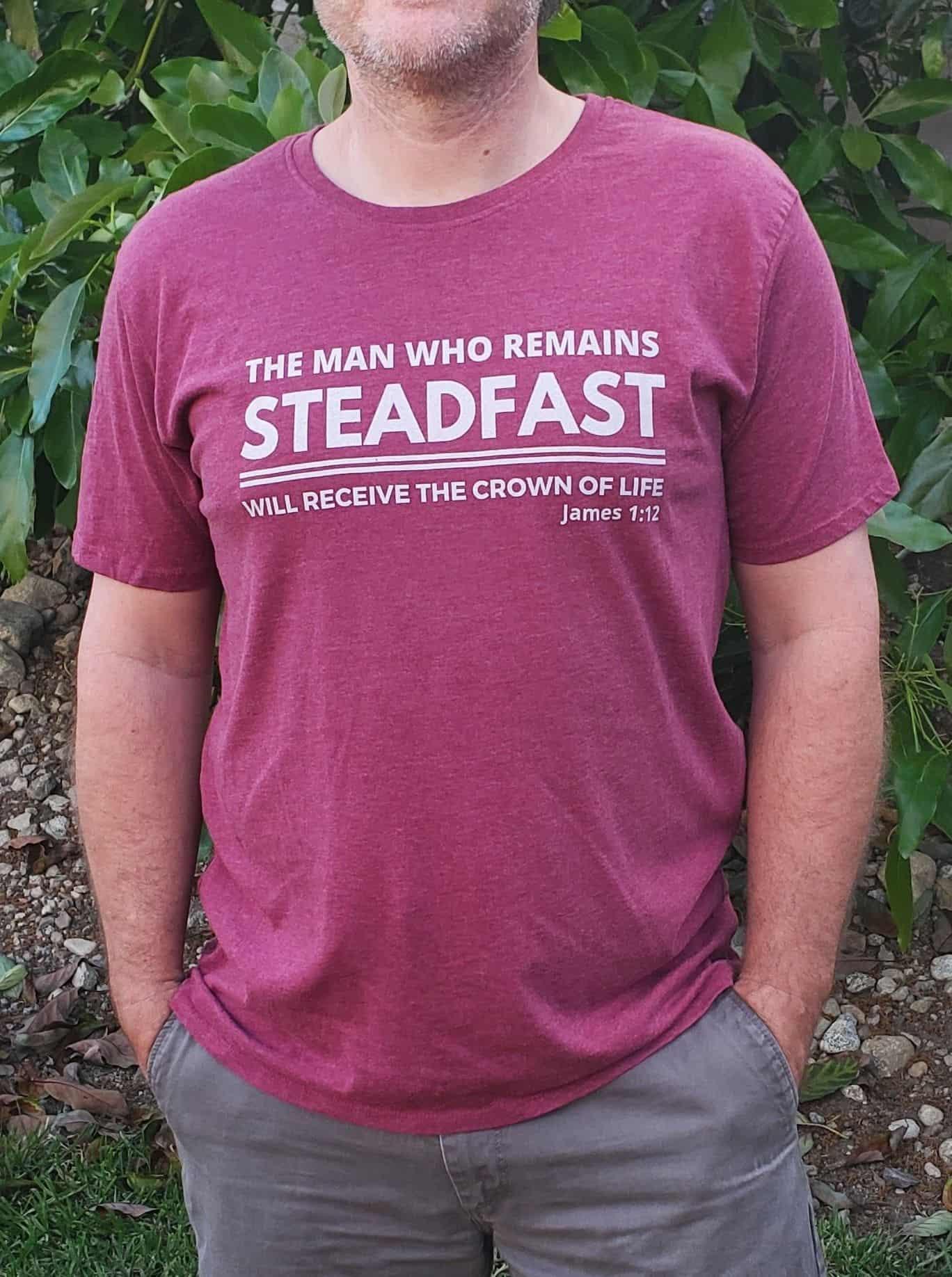 Steadfast Christian Shirt for Men