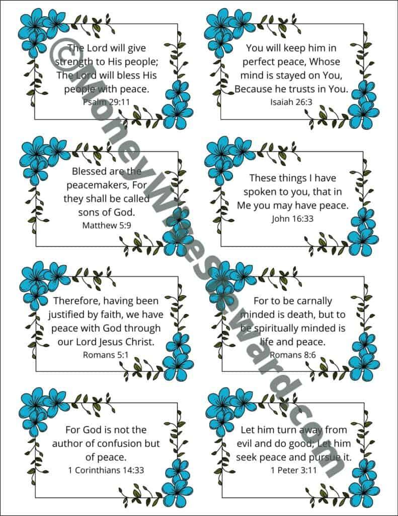 Peace Bible Verses