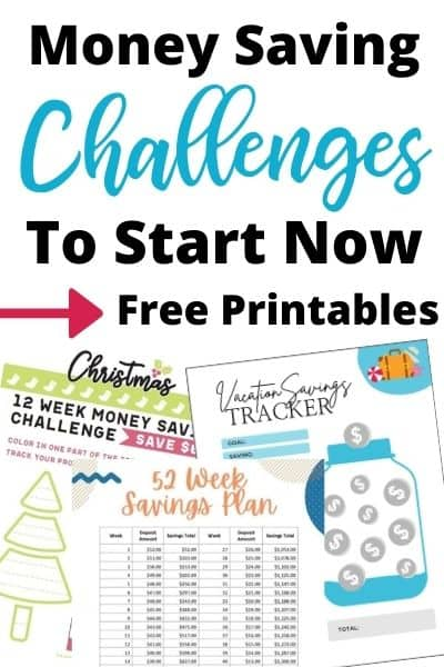 The Best Money Saving Challenges to Start Now + Free Printables
