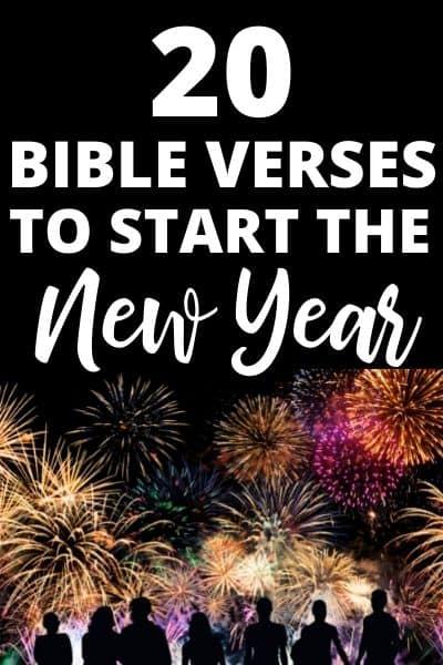 New Year Bible Verses